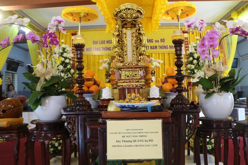 Lễ Cung Tiễn Kim Quan – Trà Tỳ Kim Thân Đức Cố Đại Lão Hòa Thượng Đệ Ngũ Tăng Thống Giáo Hội Phật Giáo Việt Nam Thống Nhất