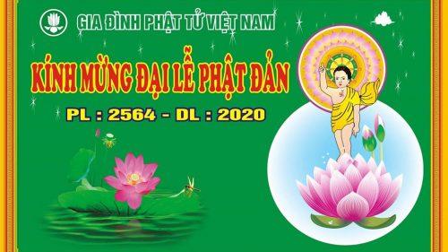 HTr Nguyên Tín – Nguyễn Châu chúc từ Mừng Phật đản